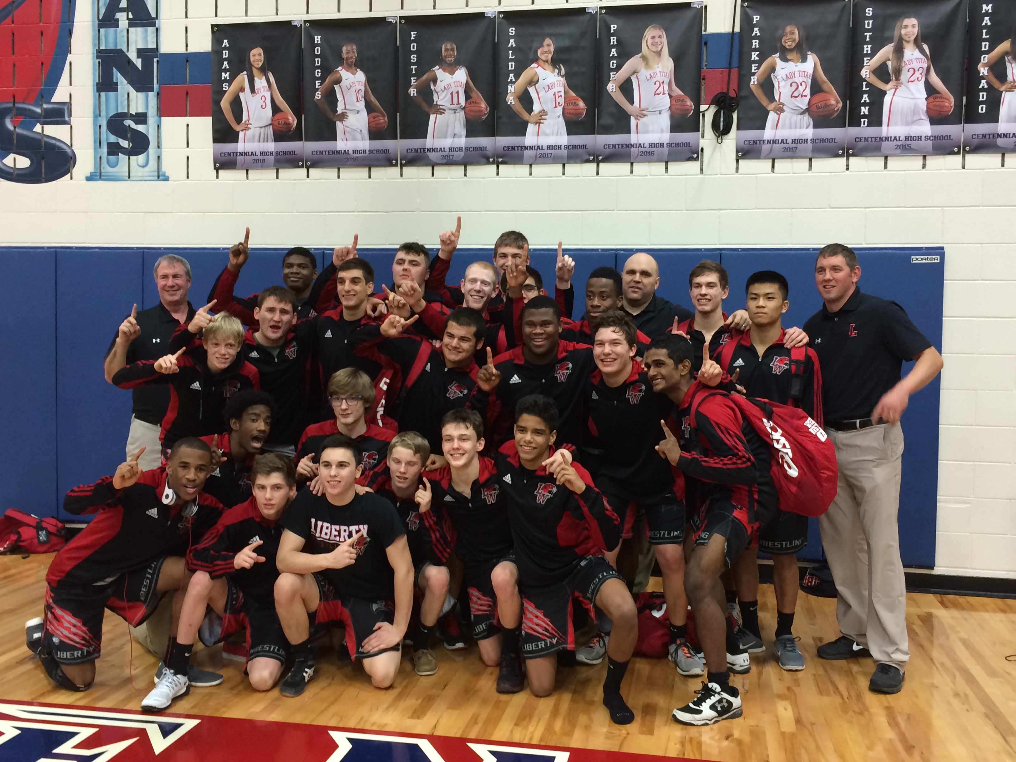 2015 District Dual Champions