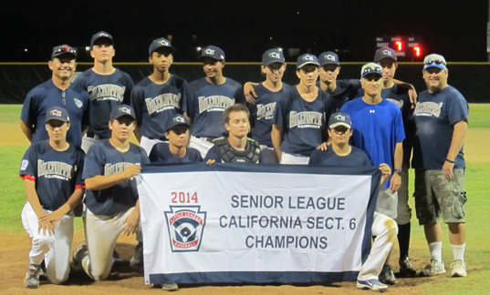 2014 seniors section