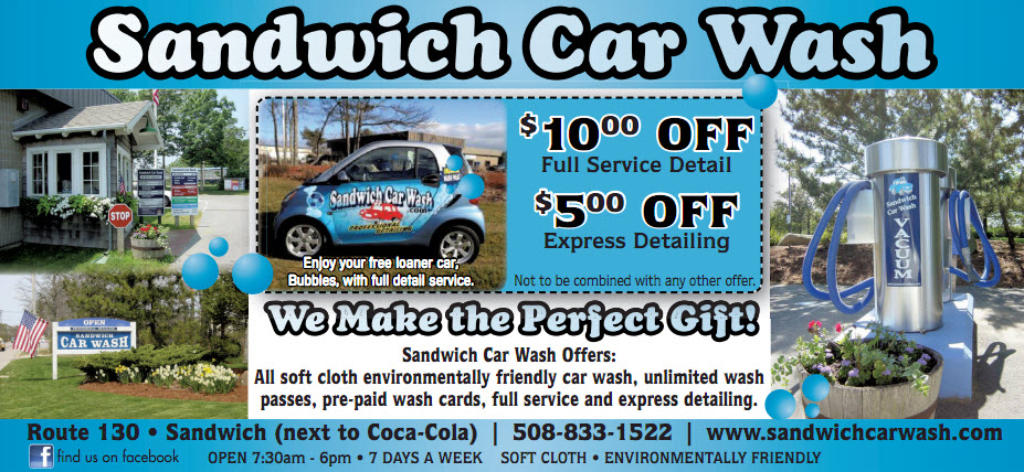 <center>Sandwich Car Wash</center>