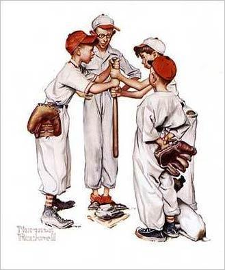 Ball Players and Bat