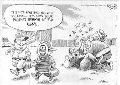 Parents Fighting Cartoon