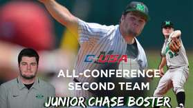 Chase Boster All C-USA Honors 2015