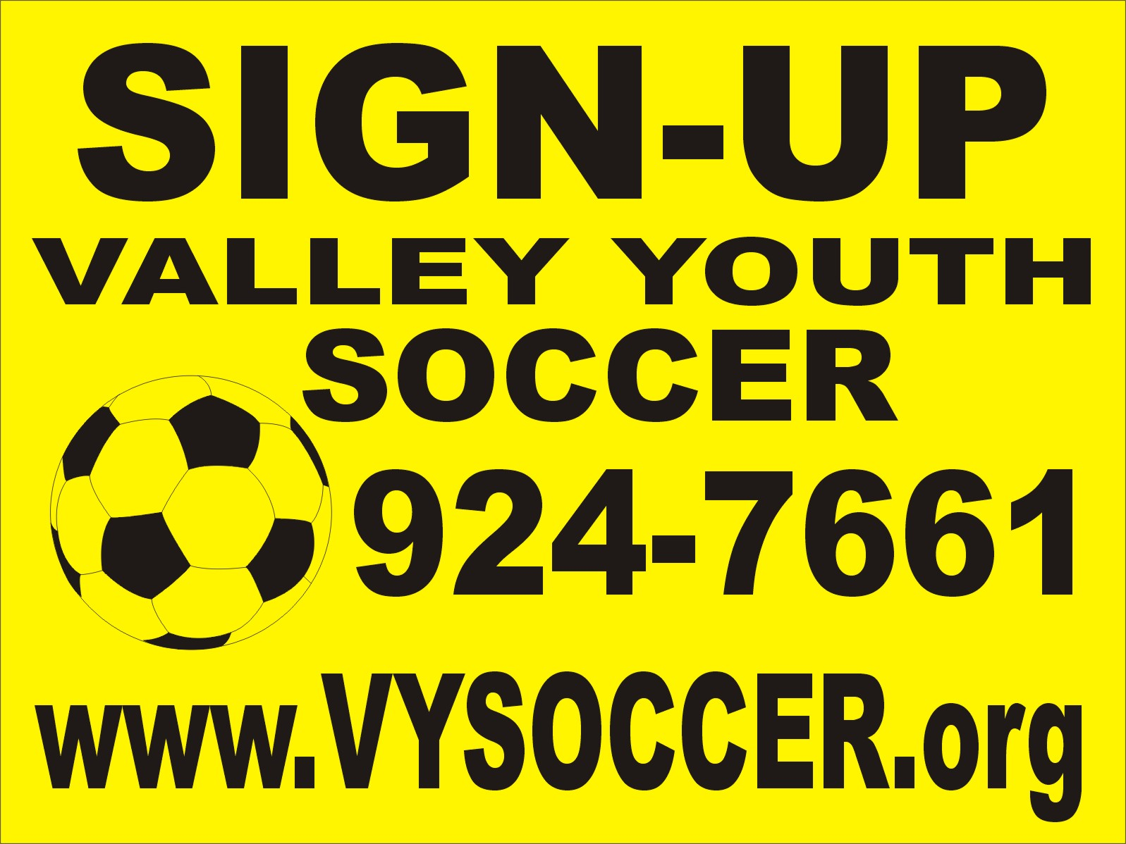 VALLEY  YOUTH  SOCCER