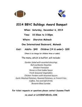 2014 BBYC Awards Banquet