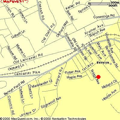 MAP-EasttownLibrary