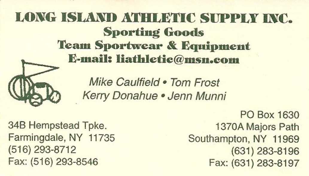 Long Island Athletic Supply Inc.