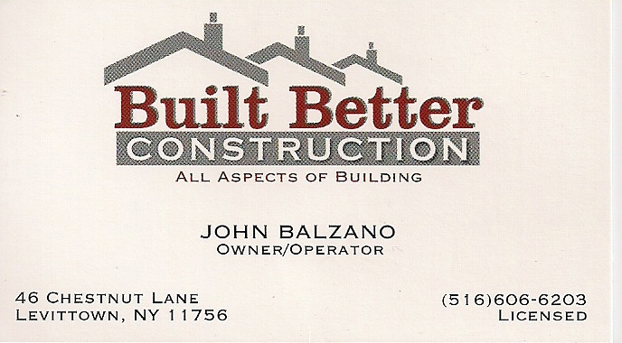 Built Better Contracting