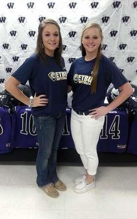 Cayla and Erika