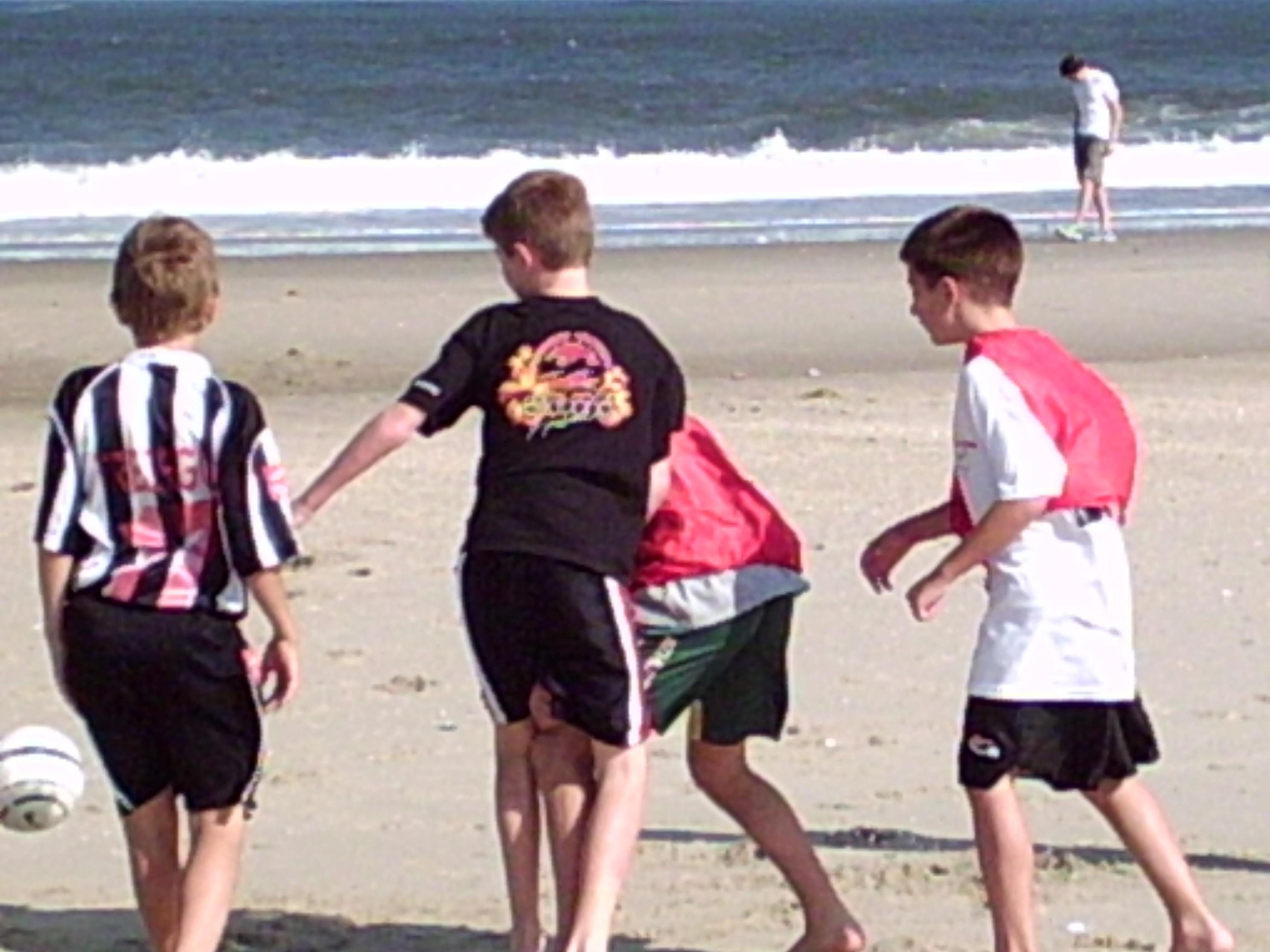 beach training