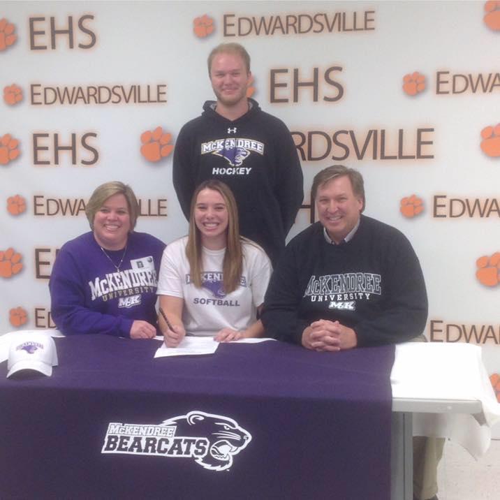 Allison Loehr college signing