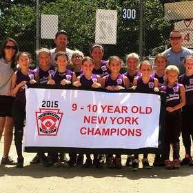 2015 9-10 Softball state Champions