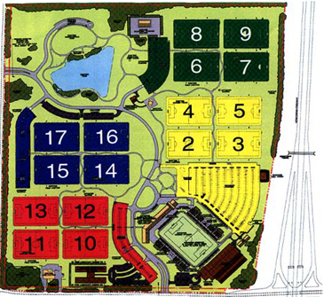 Mike Rose Complex Map