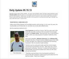 Student Sports Article