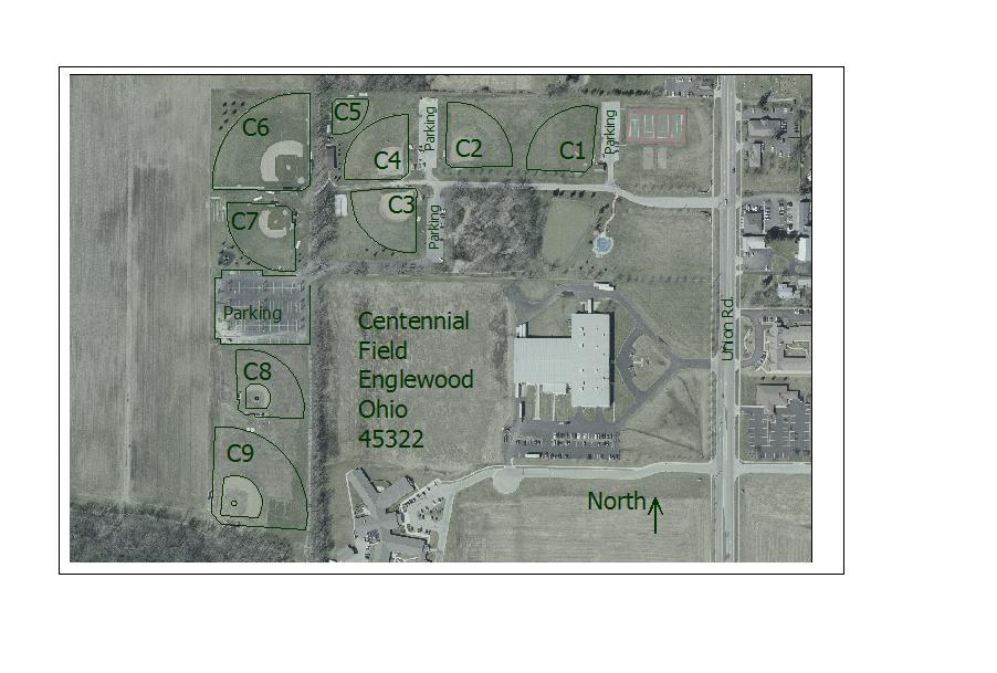 Field Layout Centennial