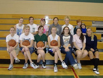 Alumni game participants