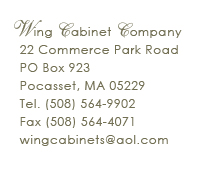 WING CABINET COMPANY-click for web-site