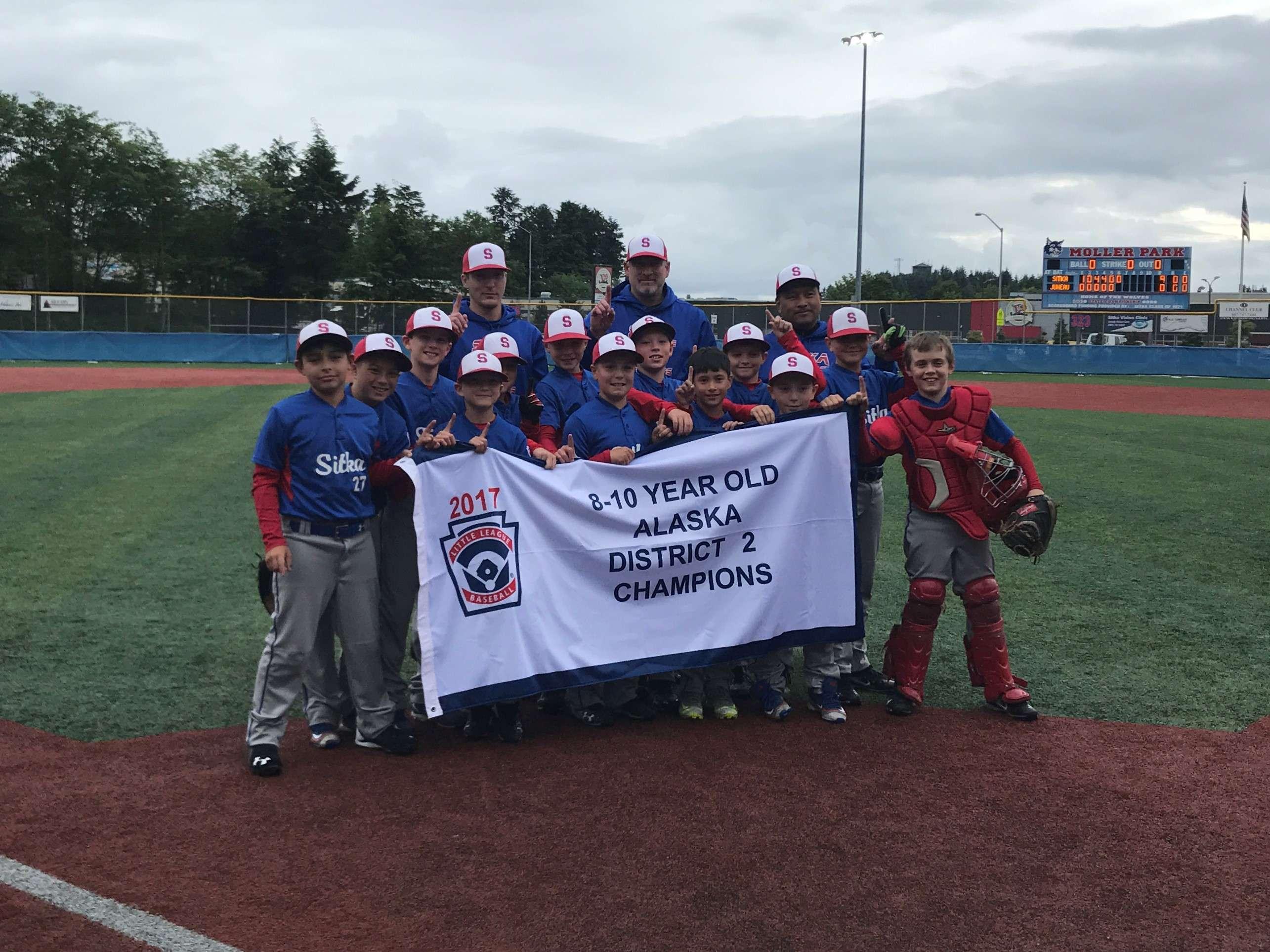 2017 Champions 8-10 yr old boys