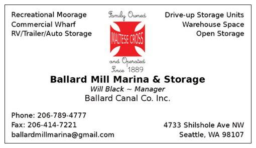 Ballard Mill Marina Logo