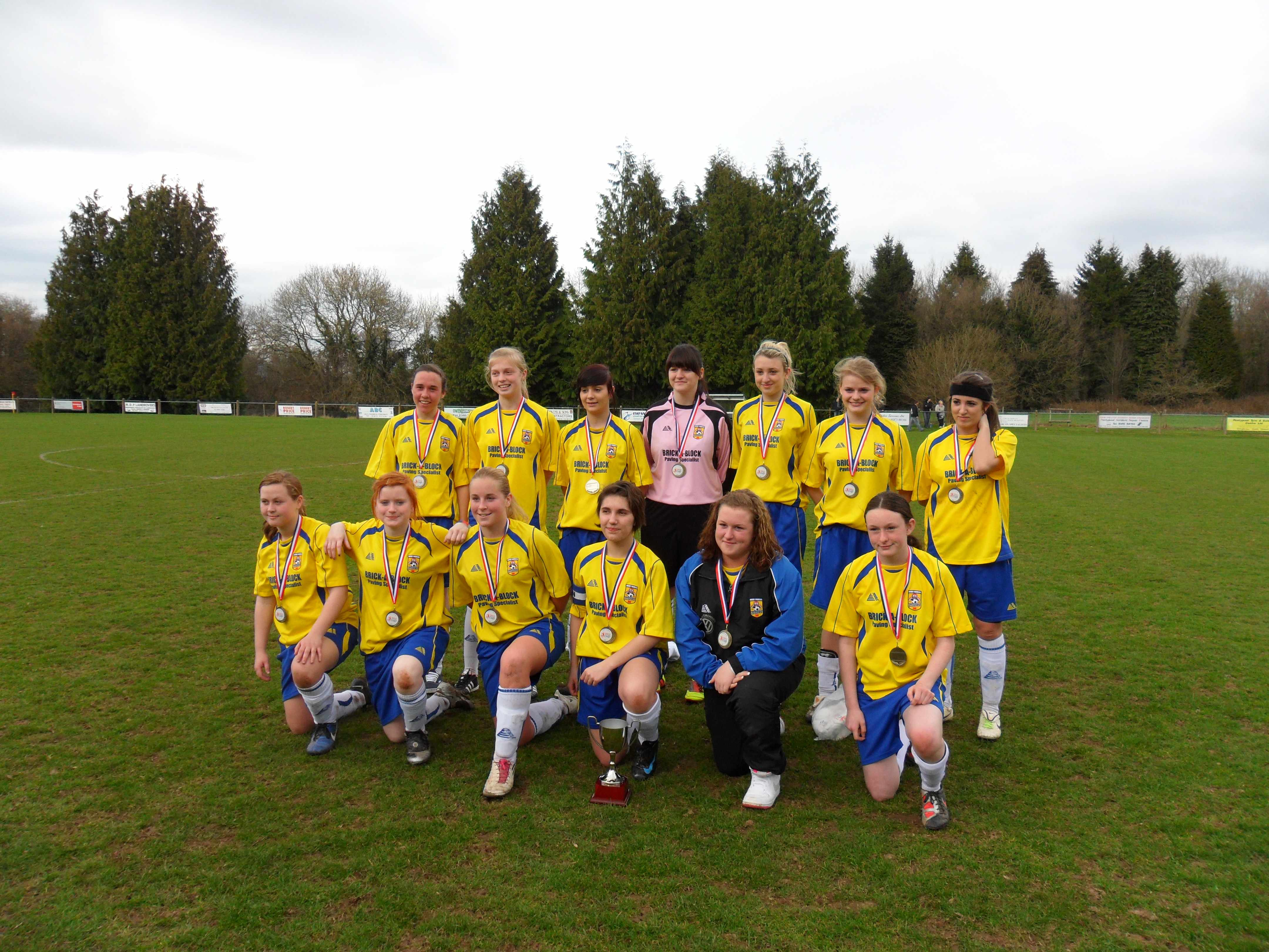 U.16's Tesco Cup Squad