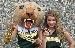 Cougar Mascot & Chelsea