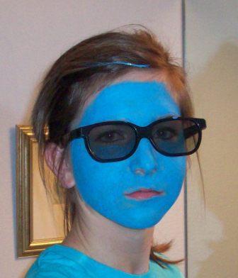 Heather Blue Face
