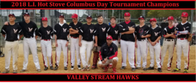 Hawks 2018 Colubus Day Tournament Champs