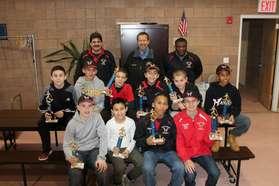 Hawks Get Trophies 2014