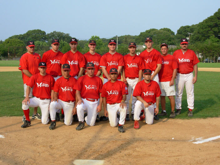 2006 Hawks FABL Wood bat champs