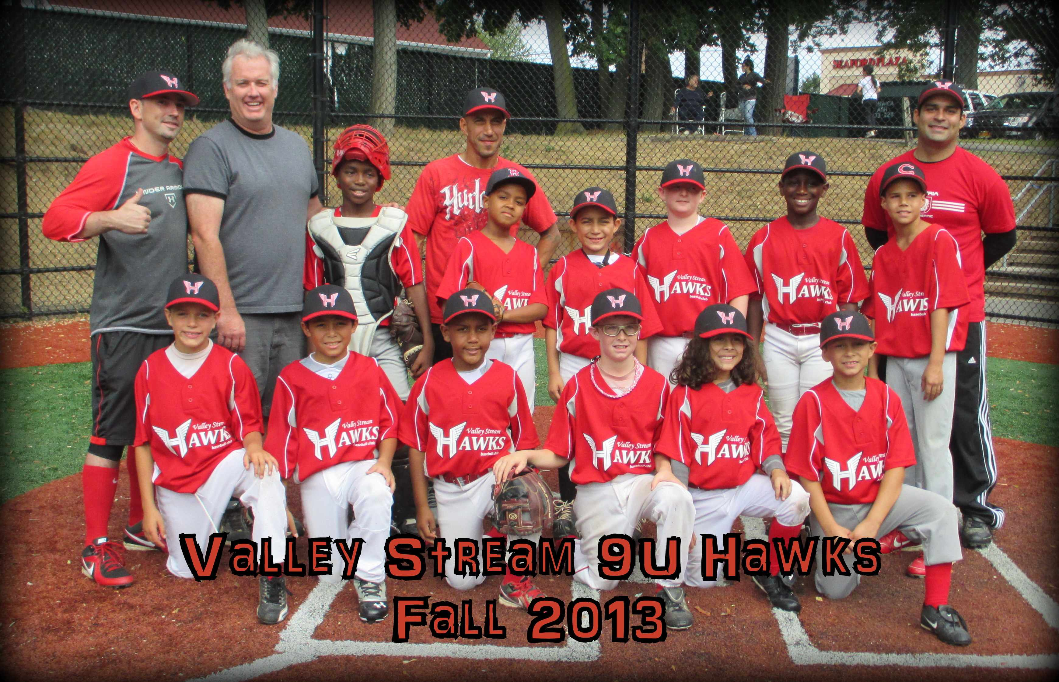 Hawks 9u Fall team - 2013