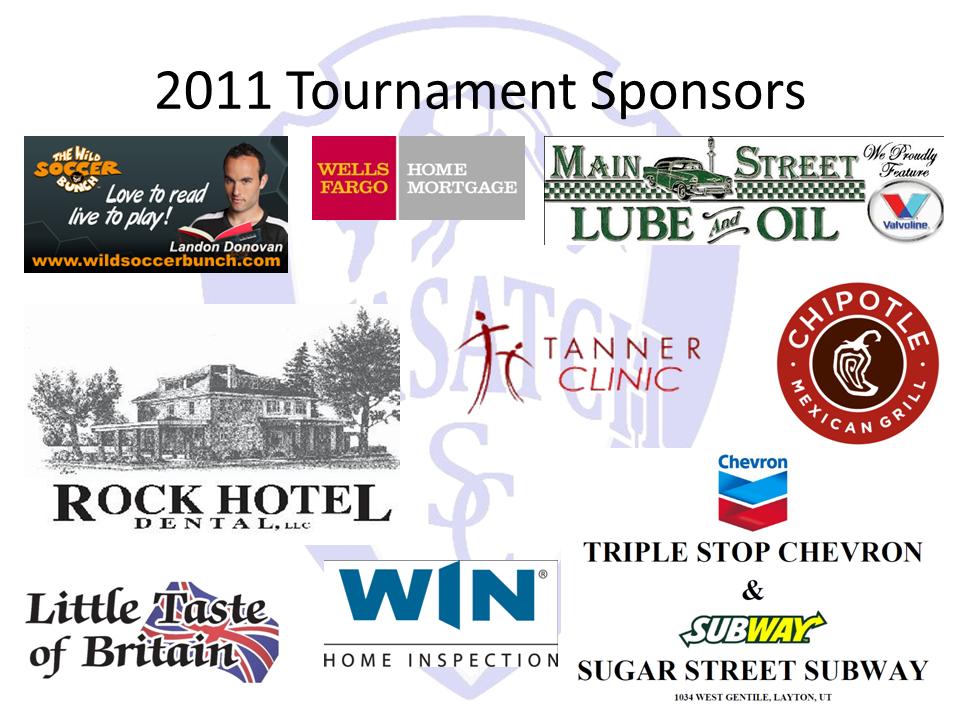 2011 Sponsors