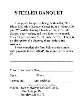 2014 Steelers Banquet