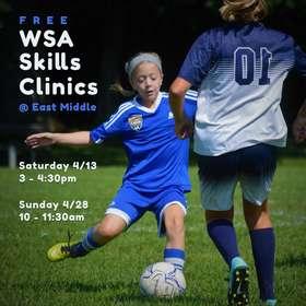 2019 Spring Skills Clinic Poster