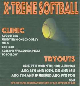 clinic tryout sched