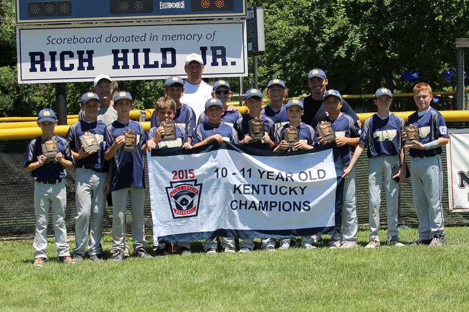 10-11 Year Old State Champions