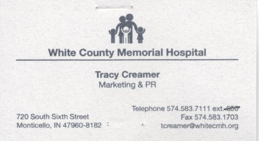 WCMH Business Card