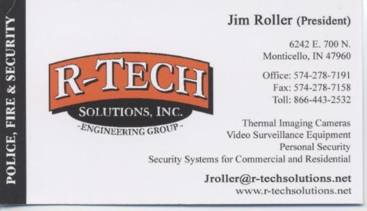 R-Tech Business Card