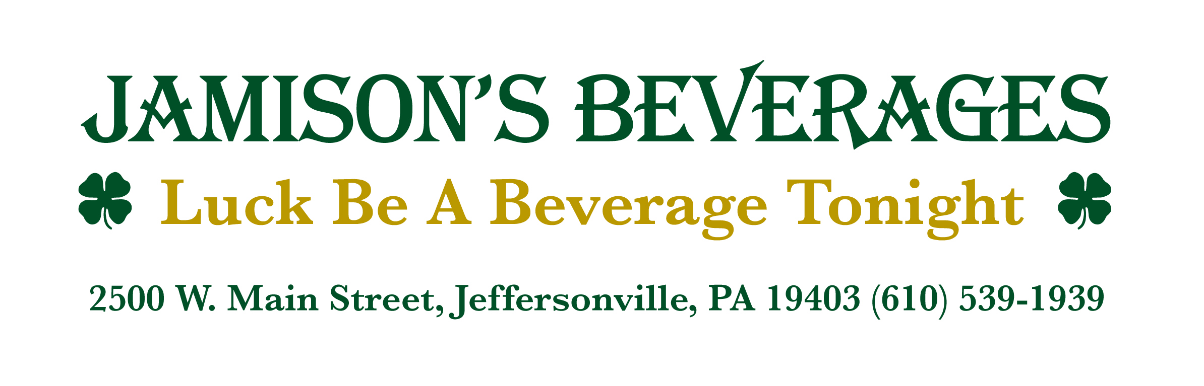 <B>JAMISON'S BEVERAGES</B>