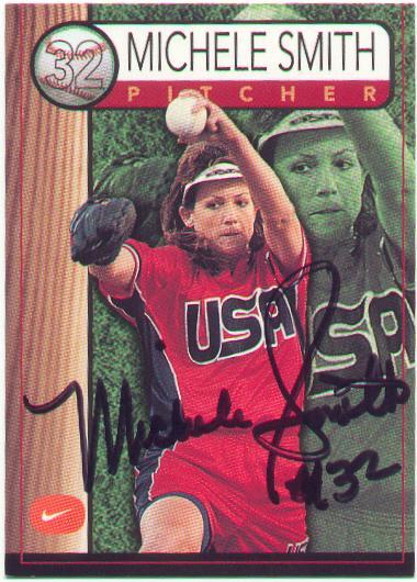 Michele Smith Autograph