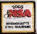 2005 NSA State Champion Patch