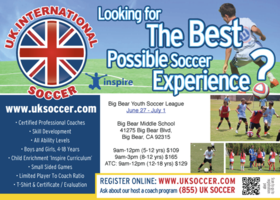 uk soccer International Camp u18