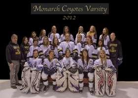 2012 Coyote Girls Varsity Hockey