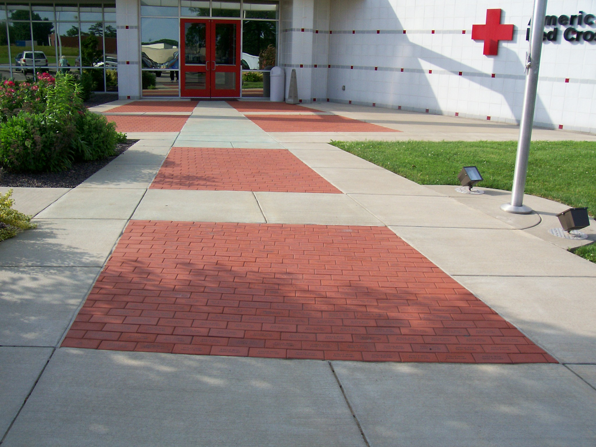Red Cross Memorial Walk-Way Evansville, IN