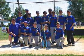 12u team won the Oley tournament