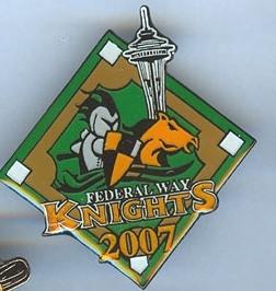2007 CDP TEAM PIN