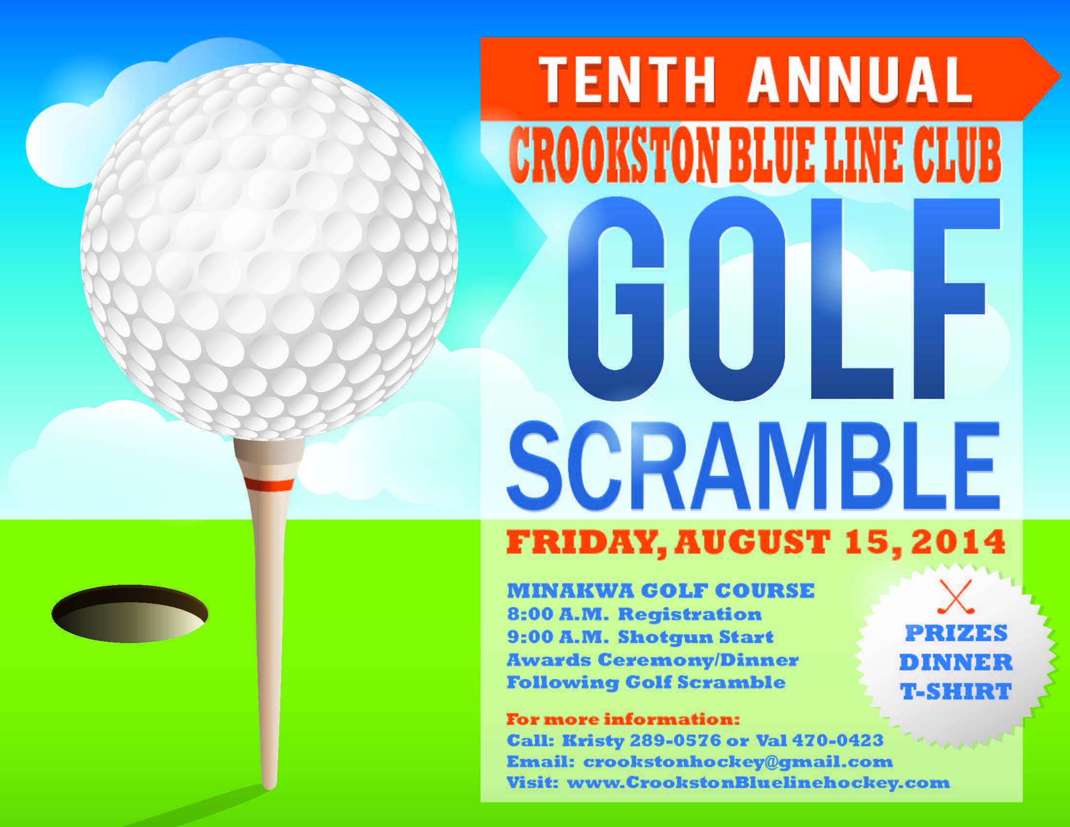 2014 GOLF SCRAMBLE FLYER