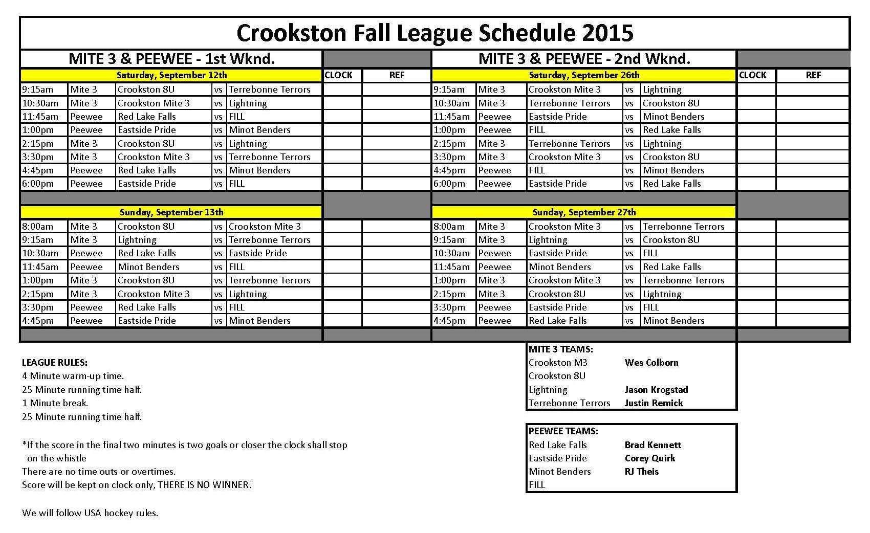 Fall League 2015 schedule- Mite 3 & Peewee.jpg