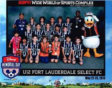 U12 Boys Disney