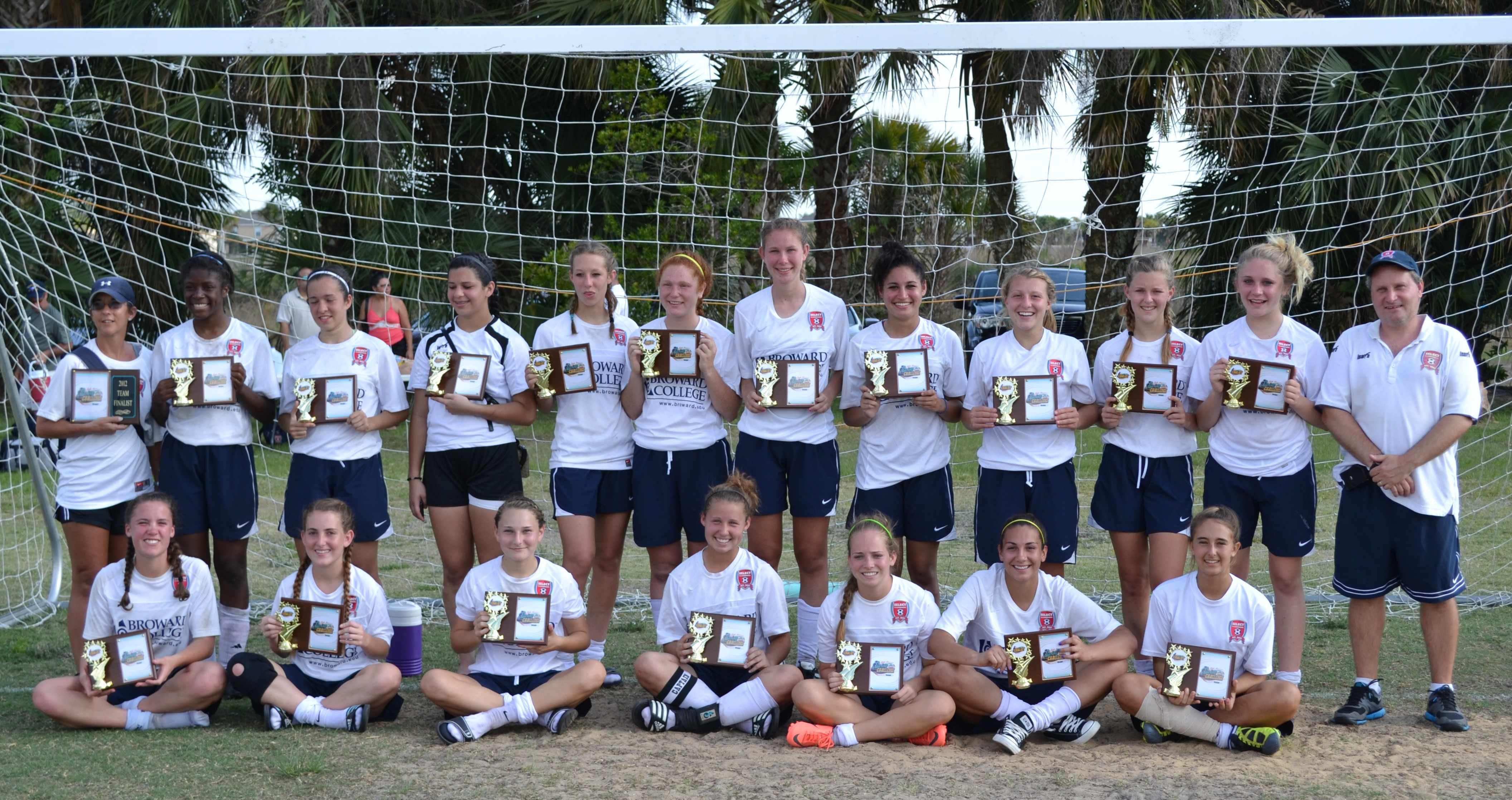 u16 girls palm bay
