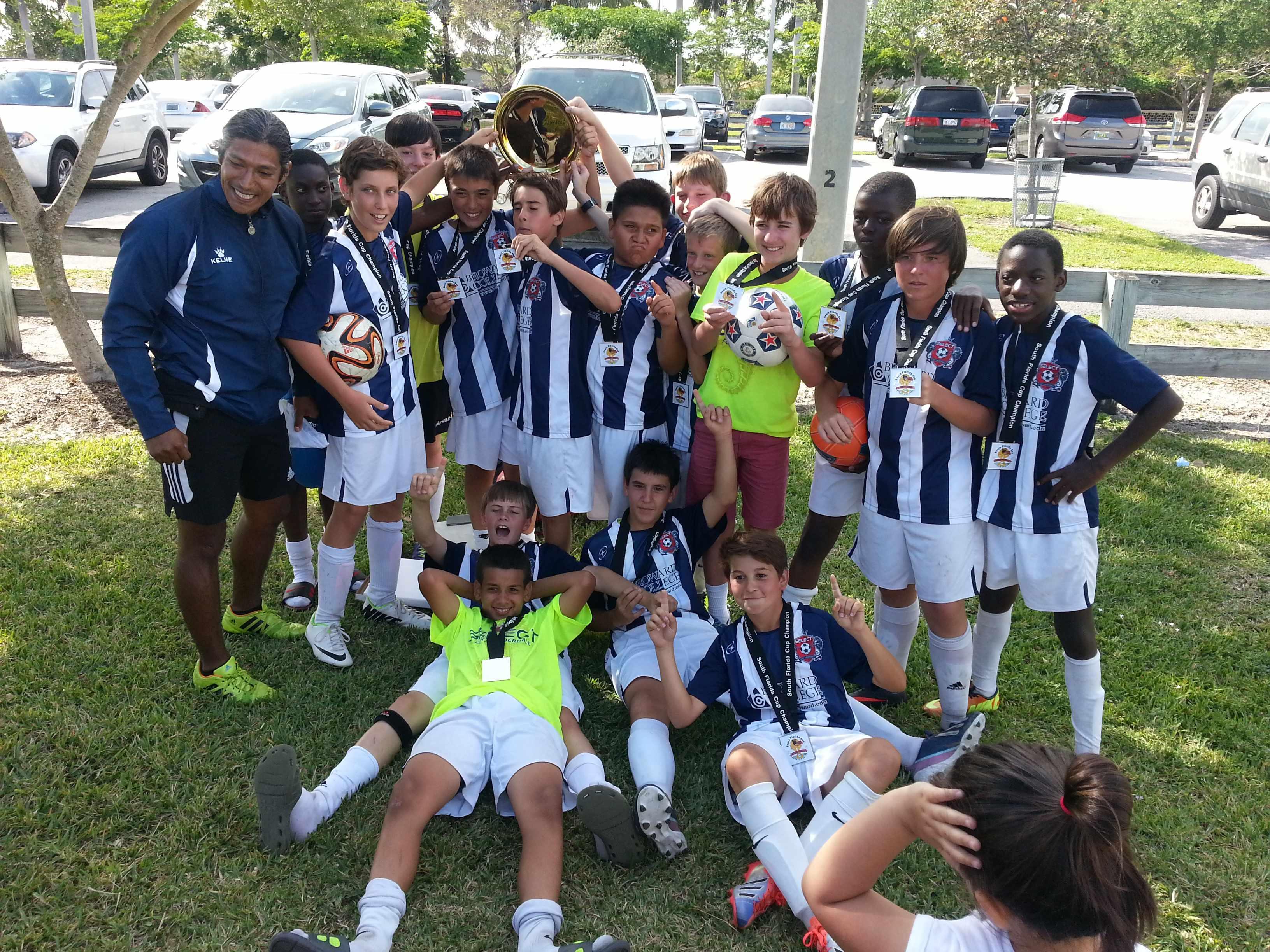 U13 Boys SF Cup