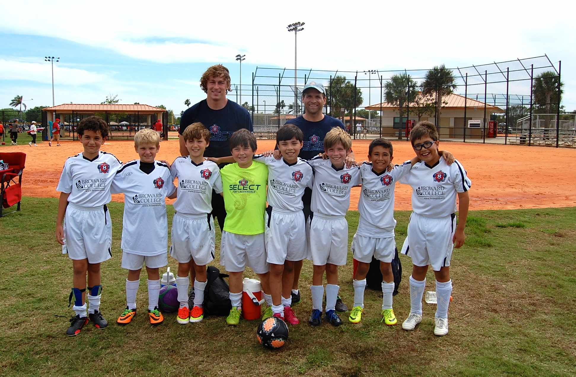 U10 Boys White SF Cup